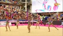 Belarus. 2016 Guadalajara World Cup Rhythmic Gymnastics. Groups. Qualification. Ribbons