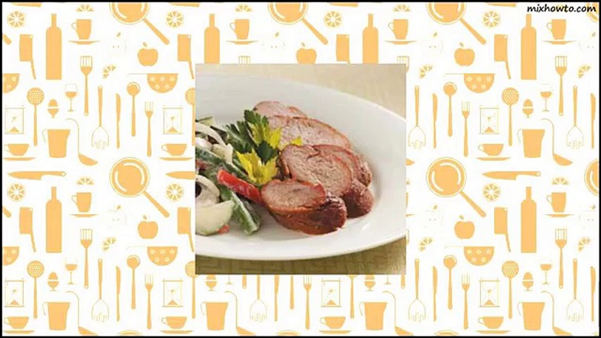 Recipe Ginger-Orange Pork Tenderloin Recipe