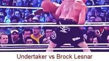 Undertaker vs Brock Lesnar Wrestlemania 30 - WWE Wrestlemania 2014 Undertaker vs Brock Lesnar