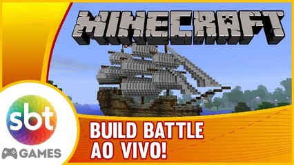 Build Battle AO VIVO - O que sera que vamos construir?