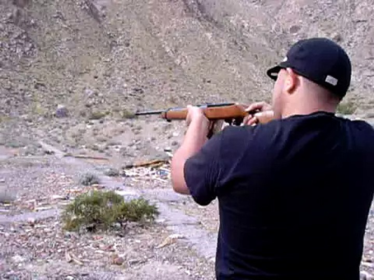 22 cal rifle with 30 round mag