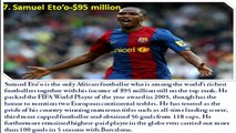 Top 10 Richest Football Players In The World 2016 Top Highest Paid Footballers Cristiano Ronaldo