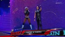 WWE Smackdown 4 Jun 2016 Full Show - Paige,Natalya & Brie Bella vs Naomi,Tamina & Summer Rae - w Lana