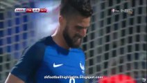 2-0 Olivier Giroud Goal HD - France 2-0 Scotland 04.06.2016 HD