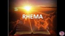Rhema - Message by Rev.Douglas Cross on 29th May 2016 FMTC Maryland