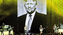 CWEB.com -Exclusive Dixie Chicks Sings 'Goodbye Earl' in Front of Defaced Photo of Donald Trump