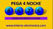 NUMEROS GANADORES LOTERIA ELECTRONICA 3 DE JUNIO