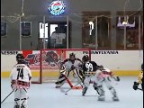 Awesome 11 year old Ice hockey player killing it in  INLINE  Hockey. State Wars 97A Ga highlights.