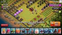 Clash of clans - 300 Goblin troop Raid (Get dAt Monie) (300 Troop Challenge)