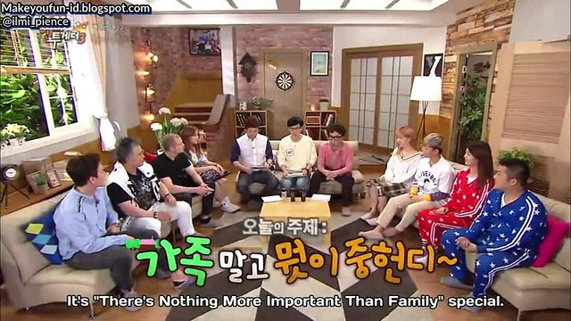 [ENG & INDO SUB] Happy together Ep.451 (Somi& Her Dad Matthew)