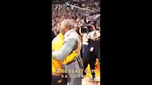 Kanye West Kobe Bryant And Jay Z Hang With Kobe Final Laker Game Staples Center