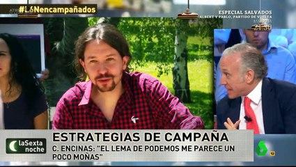 Inda dice que Iglesias es como Nacho Vidal