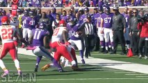 Stefon Diggs Can You Digg It Minnesota Vikings Highlightsᴴᴰ