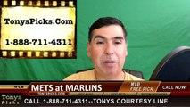 New York Mets vs. Miami Marlins Pick Prediction MLB Baseball Odds Preview 6-3-2016