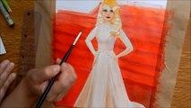 Watercolors painting (redcarpet) comment peindre a l'aquarelle