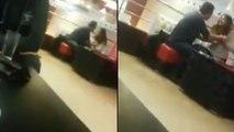 Ce mec décide de rompre avec sa copine au restaurant.. Elle devient complètement folle !