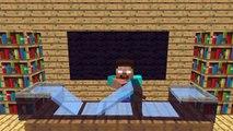 Monster School- Skateboarding Tricks (Minecraft Animation)