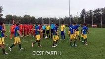 Quart de finale Bresil Roumanie Euro Foot Jeunes