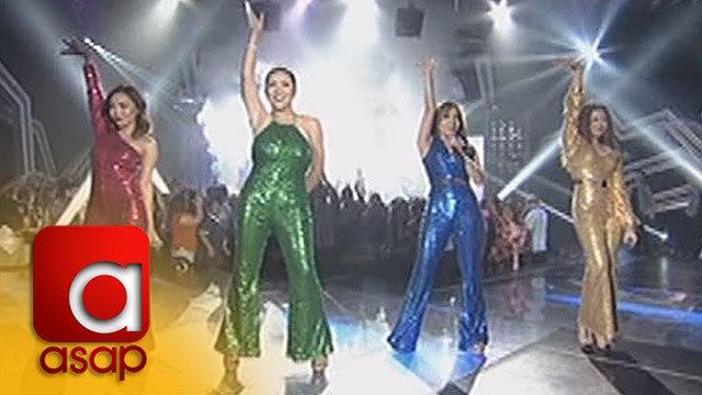 ASAP: Morisette, Klarisse, Jona and Angeline relive the disco fever