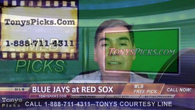 Toronto Blue Jays vs. Boston Red Sox Pick Prediction MLB Baseball Odds Preview 6-5-2016