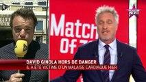David Ginola : première apparition à la télévision depuis son accident cardiaque (Vidéo)