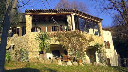 A VENDRE Maison de charme 06530 SPÉRACÈDES - 280 m² - Piscine