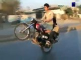 Bike Wheeling _ Wheeling Pakistan _ Sami 302 pindi bike wheeling full video.part 1 - Downloaded from youpak.com
