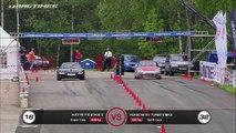 Mercedes SL 65 AMG vs BMW M3 ESS vs Porsche 911 Turbo; Nissan GT-R vs BMW M3 ESS