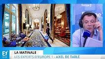 François Baroin choisit Nicolas Sarkozy et la réouverture du Ritz en toute discrétion : les experts d'Europe 1 vous informent