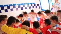 U17 - vainqueur de la finale Challenge - Cri de guerre