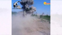 Battle of Fallujah. A failed IS Iblis State car-bomb attack on Iraqi forces