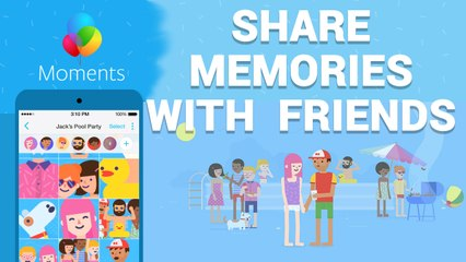 How to share your photos from the last party with Moments