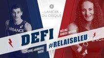 Défi #Relaisbleu n°5 | Mélina Robert-Michon & Pierre-Ambroise Bosse