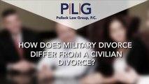 Military Divorces vs. Civilian Divorces