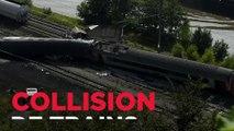 Une collision de trains a fait 3 morts en Belgique