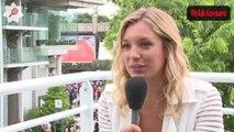 Clémentine Sarlat (France 2) nous raconte sa passion pour le tennis