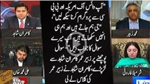Nawaz government spent Rs 1.5 bn on advertisement last year :- Anchor Kamran Shahid ne Mohammad Zubair ki class leli