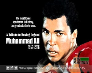 A Tribute to Boxing legend Muhammad Ali