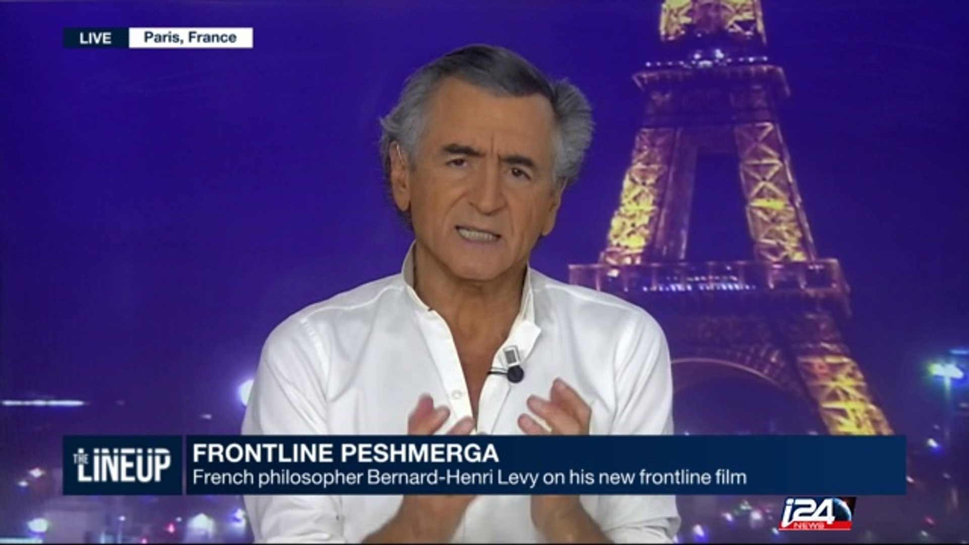 Bernard Henri-Levy on his new documentary