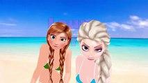 Elsa y Ana de Frozen en Biquini DaDaDa Frozen Kids songs