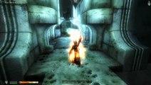 Lucy slays a vampire - Elder Scrolls IV: Oblivion (modded) - Deadly Reflex mod
