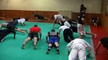 Lyon Combat Libre free fight au club le samourai