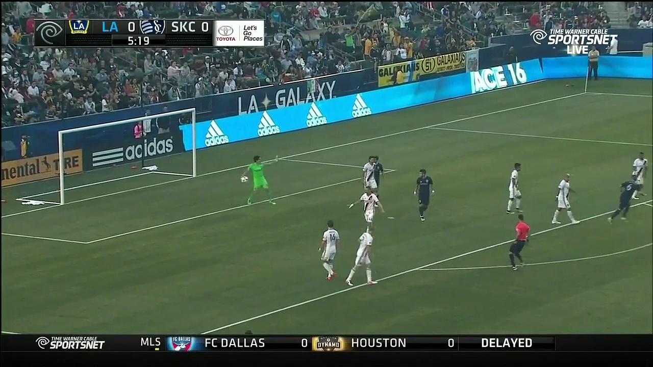 LA Galaxy vs. Sporting Kansas City 2016 MLS Highlights