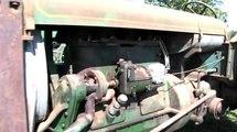 Allis 20-35 - Nice Orginal Tractor - Aumann Auctions Sutton Antique Tractor Auction