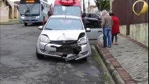 Acidente fere duas crianças em Uvaranas