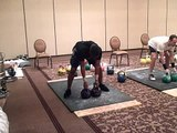 Sincere Hogan Performs 29 reps w/ 20kg Kettlebells in 3 min. Long Cycle Sprint @ IkFF Invitationals