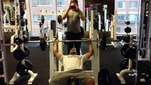 315 Incline Bench Press for 10 Reps - video dailymotion