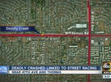 PD: Deadly crash in Phoenix linked to street racing