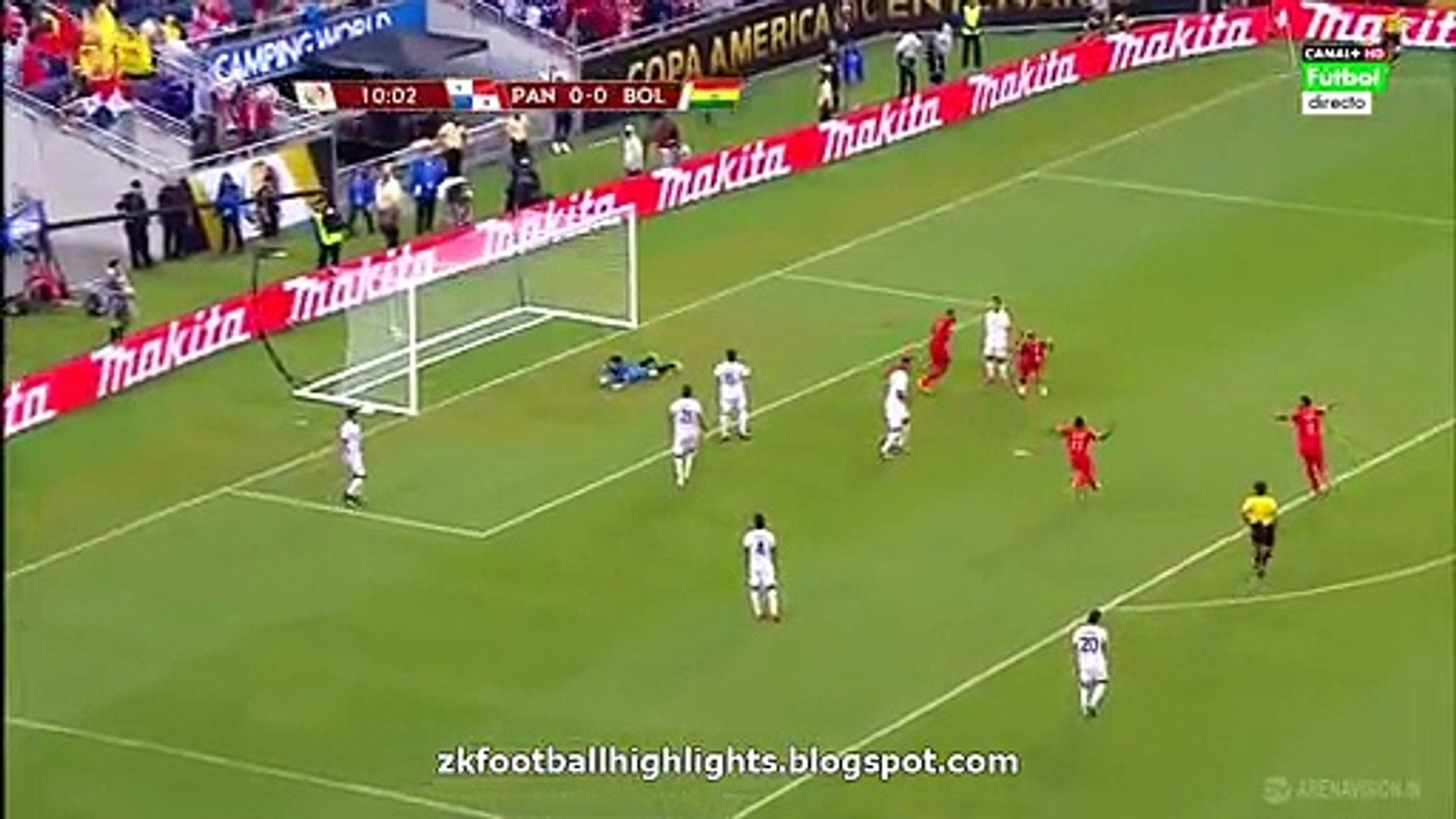 1-0 Blas Pérez Goal HD - Panama vs Bolivia - COPA AMERICA 06.06.2016 HD