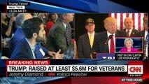 Donald Trump Veterans donations full press conference   Veterans donations press conference